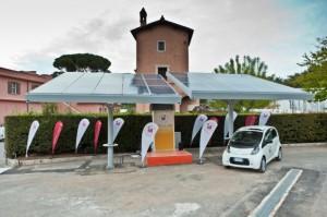 veicoli elettrici e fotovoltaico
