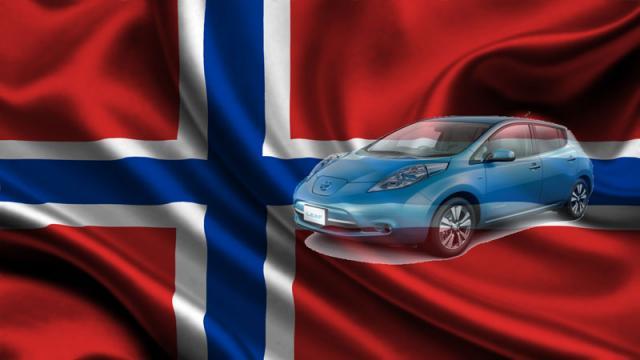 1200 automobili elettriche al mese in Norvegia