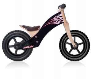 Bici Rbel Kidz rosa/nero