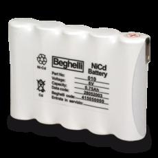 Batteria NiCd HT 6V 0.75Ah