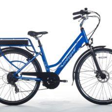 bici elettrica bali blue