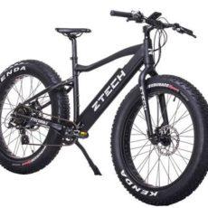 bici elettrica fatbike nera