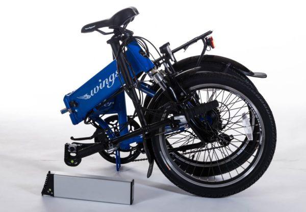 bici elettrica peler piegata